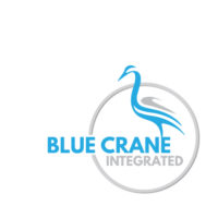 Blue Crane Print